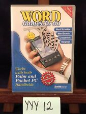 SwiftWare Word Games To Go For Palm Os or Pocket Pc Handhelds Software! Yyy12