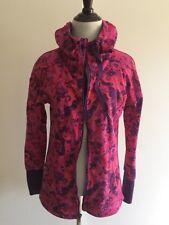 NEW! Gaiam Women's Zippered Sweatshirt Pink Hoodie Jacket Size XS Sweater! RARE!