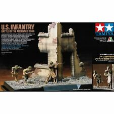 Tamiya 89741 Scene Set 3 US Infantry Battle of Ardennes 1/35 Scale Plastic Kit