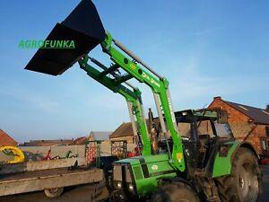 Frontlader Schlepper Traktor DEUTZ-FAHR 1600 kg Lader Joystick