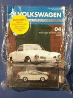 Volkswagen Deagostini offizielle Modell-Sammlung Nr.04 Karmann Ghia Neu+OVP