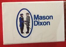 Mason Dixon truck driver matches wooden unopened never used. 2-1/8X1-3/8X1/4