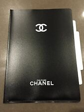RARE Culture CHANEL X Vogue Magazine  Black A4 Document File Folder Stationery