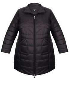 Ladies plus size 18 BLACK   AUTOGRAPH Long  Puffer  jacket  NEW RRP$139.99