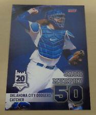 JACK MURPHY - 2017 Oklahoma City Dodgers - Sydney Blue Sox - Aussie Baseball
