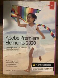 Premiere Elements 2020 *Read Listing*