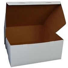 25 count WHITE 14x14x6 Bakery or Cake Box
