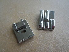 2 x PIPING CORDING FOOT FOR BROTHER TOYOTA NEW SINGER DOMESTIC SEWING MACHINES