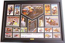 New Casey Stoner Signed Limited Edition Memorabilia Framed