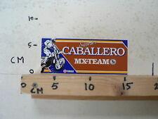 STICKER,DECAL CABALLERO YAMAHA MX-TEAM SUPPORTER MOTOCROSS CROSS D