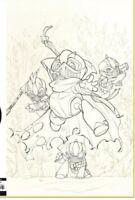 Canto  2 The Hollow Men Peach Momoko Japan Retailer Sketch Variant Super Rare!