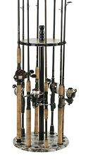 Fishing Rods Racks Standing Organizer Holder Floor Round Storage Pole Rod Gear