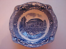 Vieja cáscara, johnson Brothers, Old London, azul, 21,5cm