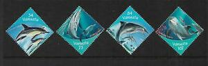 2000 Dolphins Set of 4 MUH/MNH