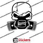 Sticker Piston SEAT Ibiza Leon Altea FR Cupra - Couleurs au choix