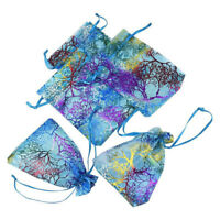 Supplies Packaging Pouches Organza Bag Candy Pouch Drawstring Hot Stamping