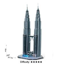 Cardboard Jigsaw 3D Puzzle  Petronas Towers G168-1 Hobbies Toy