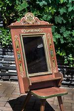 Voglauer Anno 1800 Spiegel Wandspiegel bemalt Kosmetikspiegel Diele Flur Holz