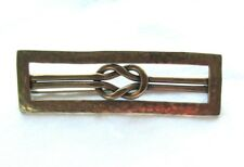 Love Knot Hammered Pin Brooch Marjorie Baer San Francisco Mb Sf