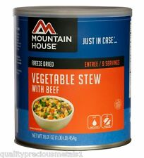 1  Can - Vegetable Stew With Beef - Mountain House Freeze Dried - Emergency