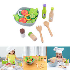 Diy Kids Kitchen Pretend Toy Set Vegetable Fruit Early Pre-School Learning Gift