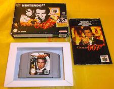007 GOLDENEYE Nintendo 64 N64 Versione PAL Italiana ○○○○ COMPLETO