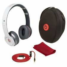 Beats by Dr. Dre Solo Wired White Headphones Monster