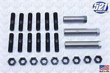 Mopar Exhaust Manifold Hardware Kit Studs Sleeve Nuts 68-74 383 440HP B/E Body