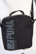 Vintage Puma Shoulder Messenger Bag Unisex Adjustable Strap Black BG917