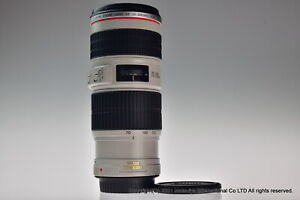 MINT Canon EF 70-200mm f/4L IS USM