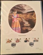 Limited Edition Postal Commemorative Society First Day Lithograph- Great Britain