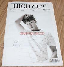 HIGH CUT VOL.203 JJ Project JJP GFRIEND JB JINYOUNG KOREA MAGAZINE TABLOID NEW