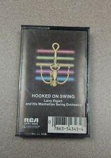 Hooked on Swing - Larry Elgart & His Manhattan Swing Orchestra (Cassette - 1982)