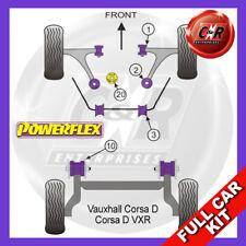 Vauxhall / Opel Corsa D VXR (2006-2014) Powerflex Complete Bush Kit