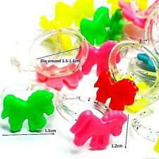 288 pcs Super Mini Horse RINGS Birthday Party Favors Wholesales vending novelty