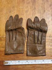 Vintage Aris Childrens Leather Gloves