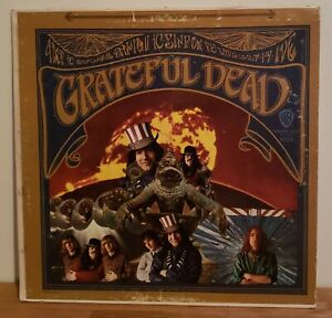 Grateful Dead 1967 Self Titled Vinyl LP WS 1689 Gold Label LP Jerry Garcia