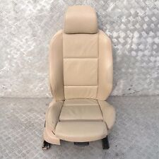 BMW X5 Series E53 Sport Front Right O/S Leather Seat Driver Side Beige Hellbeige