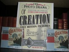 PHOTO-DRAMA OF CREATION on DVD with Poster Watchtower Jehovah IBSA JW.ORG