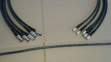 5 Pack Belden 1505A HD-SDI Mini RG59 Video Cable Din 1.0/2.3 to BNC Female  3ft.