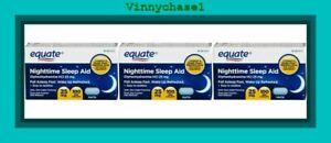 Equate Nighttime Sleep Aid 25mg 300 Mini Caplets