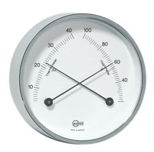 Table Thermometer Hygrometer BARIGO HOME NICKEL PLATED