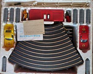 Rarissima pista elettrica vintage el-gi scala 1/24 anni 60 made in italy
