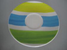 Rosenthal CASUAL Designers Guild UNTERTELLER 16,5 cm  blau gelb grün Untertasse