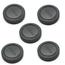 5PCS Rear Lens Cap for Micro 4/3 M4/3 Olympus E-P1 PL3 Panasonic LUMIX G1 G2 GF5