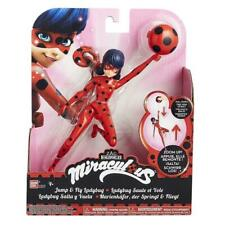 "NEW! Netflix Series Bandai MIRACULOUS Jump and Fly Ladybug 7.5"" Action Figure"