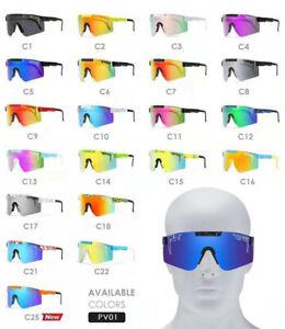 Original VIPER Polarized Sunglasses Sport Goggles Men Women Outdoor UV400 TR90