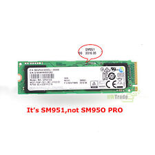 Samsung SM951 SSD 950 PRO OEM M.2 512GB Solid State Drive NVMe PCIE 3.0 x4 2280