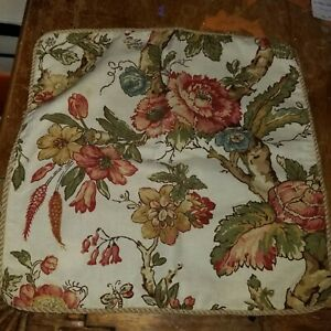 """Pottery Barn """"Katherine Palampore"""" 20"""" Linen Pillow Cover"""