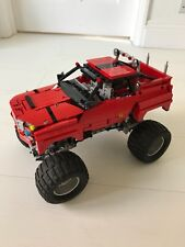 Lego Technic Truck Home Made Working Moving From Used Parts